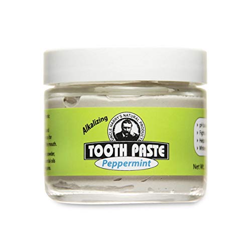 Uncle Harry's Natural Toothpaste - Peppermint (3 Oz Glass Jar)