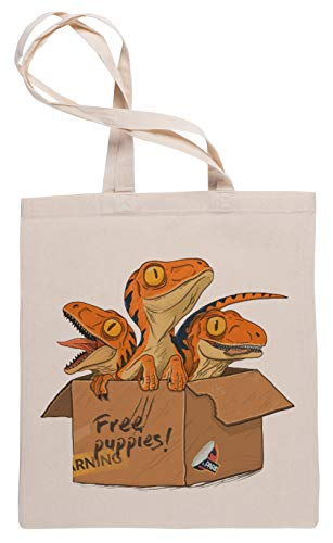 Wigoro Adoptieren EIN Raubvogel - Raubvogel Einkaufstasche Tote Beige Shopping Bag