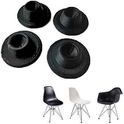 SplashNcolor 4 Pack Chair Glides Replacements for Eames Eiffel Style Chair Leg Cover Furniture product image