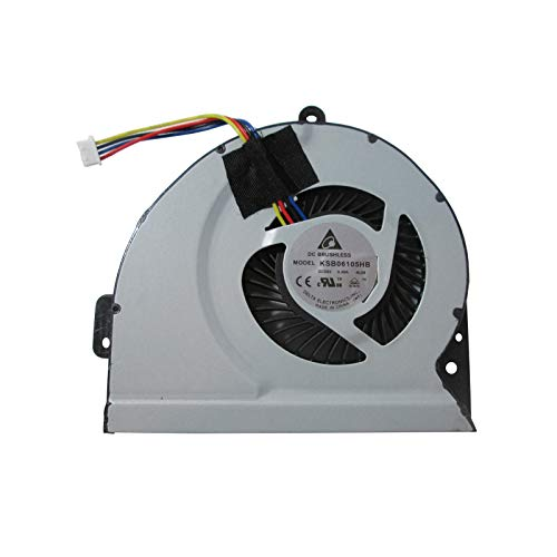 ASUS A43 X53S K53S A53S K53SJ P53SJ K43X K43E K43S K43SJ A83 A84S X84L Procesador del ordenador portátil ventilador, refrigerador