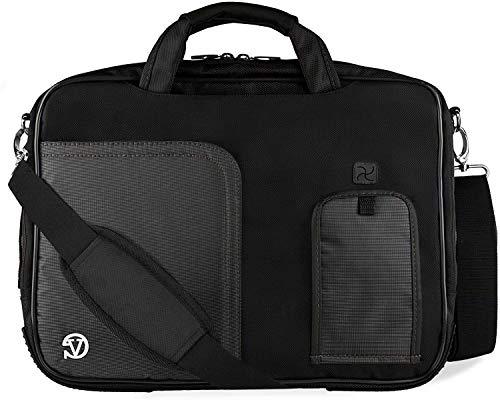 15.6 Laptop Messenger Bag for HP Pavilion HP Envy 15 for Dell Inspiron 15 XPS 17