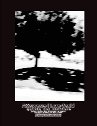 Attraverso i Loro Occhi quiete del cimitero fotografia in bianco e nero stampe d'arte in un libro