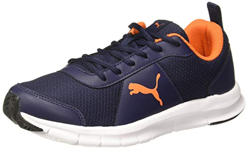 Puma Men's Crater Idp Peacoat-Shocking Orange Running Shoes-9 UK (43 EU) (10 US) (37309003_9)