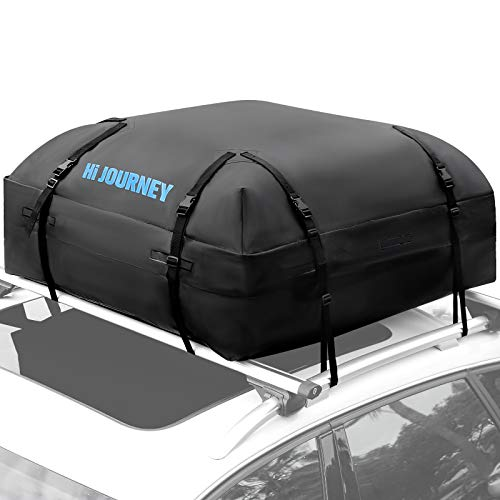 Tchipie Car Rooftop Cargo Carrier Bag, SUV Roof Top Luggage Carrier, Fit for All Vechicles...