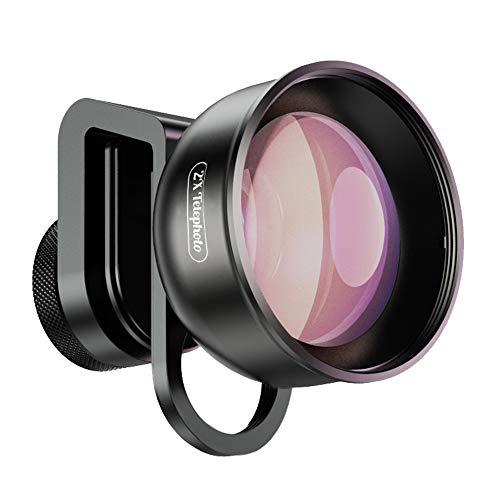 Apexel 2X Teleobjektiv {Porträtobjektiv} für iPhone,Pixel,Samsung Galaxy,Huawei,Xiaomi und die...