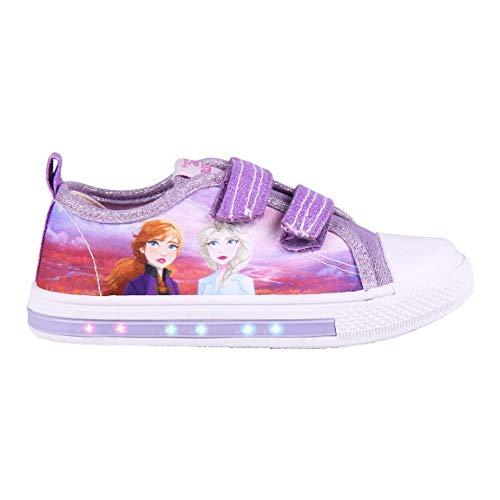 Cerdá 2300004711_T027-C72, Zapatillas de Lona Frozen 2-Licencia Oficial Disney, Morado, 27 EU