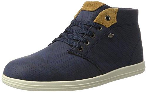 British Knights Copal Mid, Hohe sneakers homme - bleu - Blau (navy/cognac), 44 EU