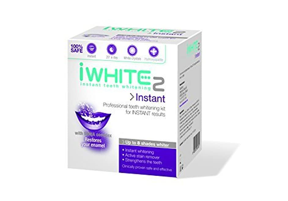 売る足ノイズiWhite Instant Two Professional Teeth Whitening Kit - 10 Trays by iWhite [並行輸入品]