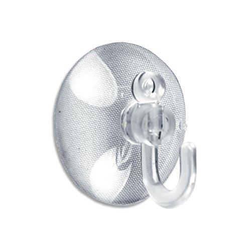 BRINOX Ventosa Gancho plástico, Ø 30 mm (2 Unidades)