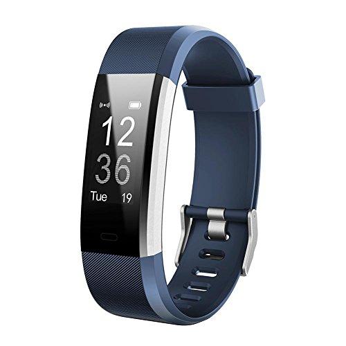Broadroot Correa Reloj Reemplazo de la correa de reloj Watch Band Accessorios para reloj inteligente ID115Plus HR Azul