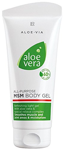 LR ALOE VIA Aloe Vera Multifunktionales MSM Körper Gel 200 ml