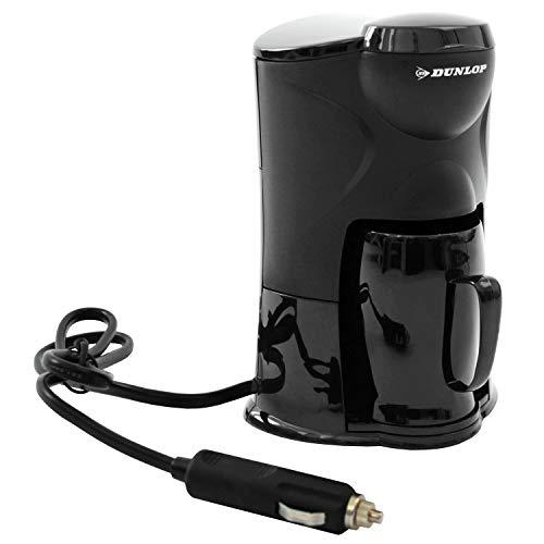 1-Tassen Kaffeemaschine mit Kaffeebecher zum Anschluss an den Zigarettenanzünder 24V, Reisekaffeemaschine für Lkw, Boot oder Camper