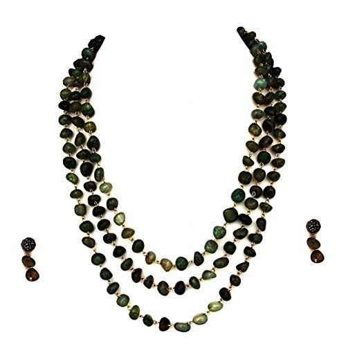 SURYAGEMS Mujer Mixed Green