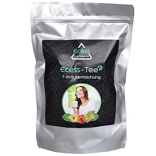 Natürlich Abnehmen mit Slimtea (Ecéss Naturatea) Entschlackungstee (60 Beutel) | Fatburner | Detox-Tee | Entgiftung | Abnehmen | Gewichtsverlust