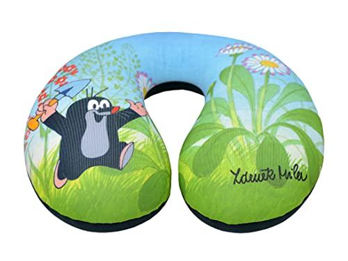 Almohada de cuello de viaje y soporte para mentón, diseño original con licencia The Little Mole Krtek Krtecek, para decoración del hogar de la habitación de los niños