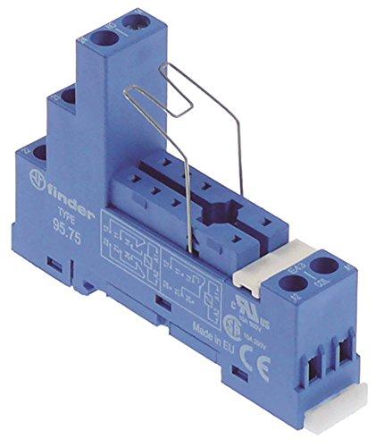 FINDER 95.75 Relais-Sockel für Spülmaschine Dihr AX300, AX330, AX300LC, AX310, AX310LC, Kromo K5400, K5400+K10, K4400, K3800 AC