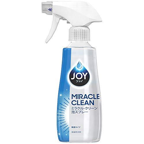 ジョイ ミラクルクリーン 泡スプレー 食器用洗剤 微香タイプ 本体 300mL