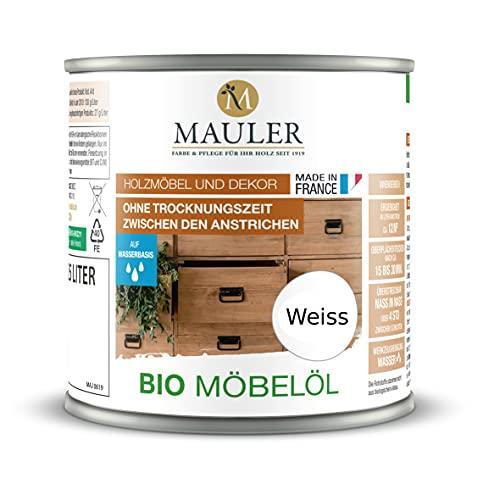 Bio olej do drewna – olej do mebli, blat roboczy biały 0L25