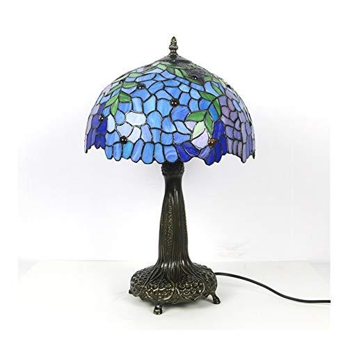 Lámpara de colores Lámpara de la aleación de la lámpara de la lámpara de la lámpara de la lámpara de la lámpara de la flor del estilo moderno de la lámpara de la cama de la cama de la cama de la noche