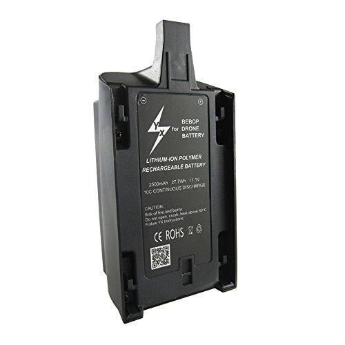 Anbee 2500mAh 11.1V High Capacity Lipo Battery for Parrot Bebop Drone