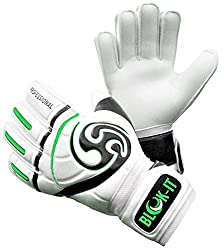 Blok-IT Goalkeeper Gloves Goalie Gloves - Make The Toughest Saves-Secure and Comfortable Fit - Extra Padding, Reduced Chance of Injury