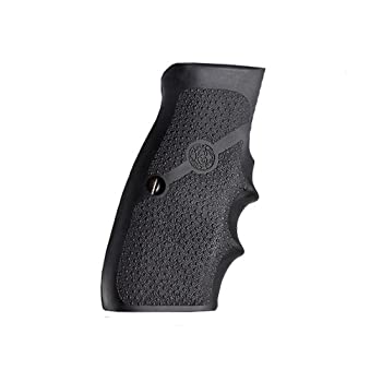 Hogue Rubber Grip CZ-75 TZ-75 P-9 Rubber Wraparound with Finger Grooves