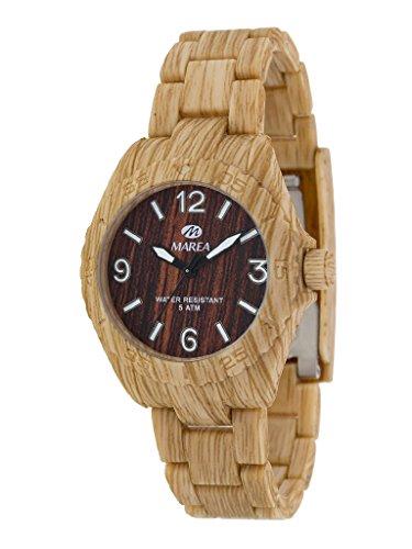 relojes marea de madera