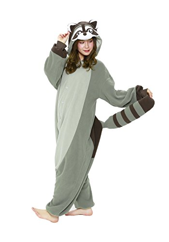 Raccoon Onesie Costume (Adults)