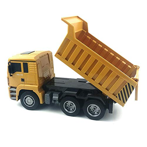 RC Auto kaufen Baufahrzeug Bild 4: RC-Muldenkipper, 1:16 Allradantrieb-Fernbedienung Muldenkipper-LKW, schweres Baufahrzeug, Hobby-Spielzeug - Geschenk für Kinder , Maximale Belastung: ca. 1 kg*
