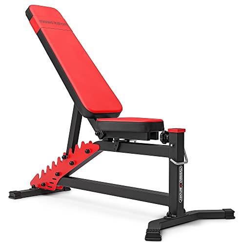 Marbo Sport Panca per allenamento con panca pesi regolabile su entrambi i lati MS-L102