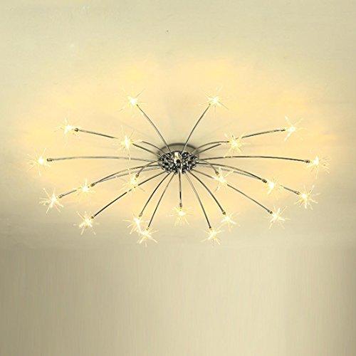 21 Meteor Pendentif Design Lampe de Plafond Moderne LED Enfants Lustre Luminaire Plafonnier Lampe Métal Intérieur Décoratif Éclairage Edison Ampoule Pour Salon Balcon Couloir Bar Garderie Blanc chaud