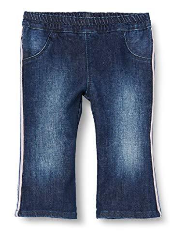 United Colors of Benetton Baby-Mädchen Jeans Hose, Blau (Blu Denim 901), 74