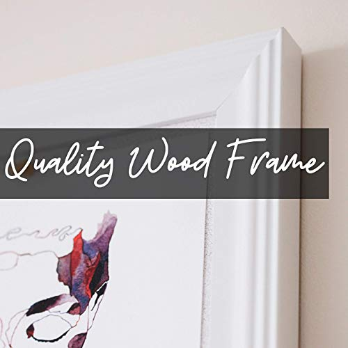 Cork Board with Wood Frame, Multiple Sizes | Bulletin Board | Pin Board | Memo Board | Corkboard | Vision Board Supplies | Cork Board | Cork Board Bulletin Board | Cork Boards | (White, 30X20) Photo #3