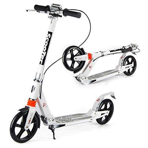 New Adjustable Height Adult scooter to work, scooter, big wheel, two rounds, two rounds, collapsible...