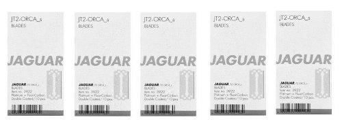 5-delige set: Jaguar scheermessen messen JT2 en Orca S kort 10-pack = 50 stuks