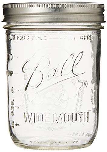 Wide Mouth Pint Jars