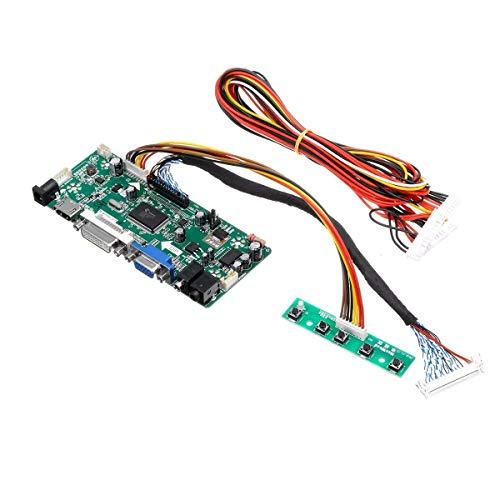 BRIGHTZ Auto-installing Combination M.NT68676.2A LCD Monitor Controller Board Converter Driver Kit HDMI DVI VGA for 1920x1200 LM240WU2-SLB2
