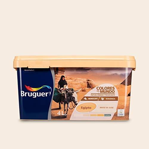 Bruguer-Pittura Colori del Mondo Egitto matiz D'Ocre 4 L
