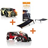 Toy Cars Overdrive Beginner's Set - Big Bank Expansion Car, Super Truck X-52 and A Track Launch Kit Ultimate Gift for Boys and Gilrs Who Love Cars