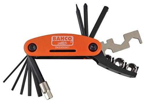 Bahco BKE850901 BHBKE850901 Fahrradwerkzeug mit 17 verschiedene Werkzeuge, Orange