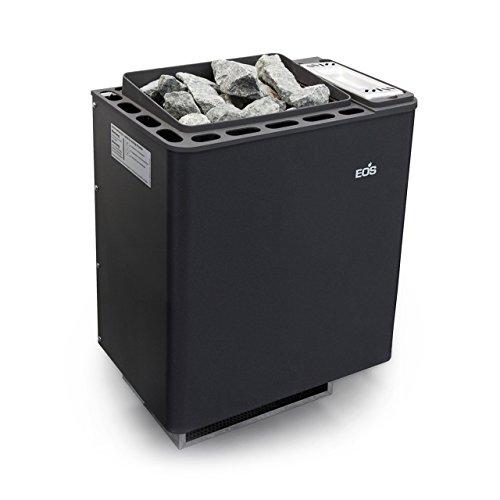 Eos Basic Saunaofen / Wandofen Bi-O Thermat anthrazit-perleffekt 6.0 kW 94.5484