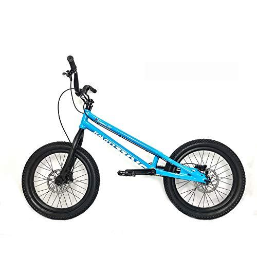 Beruf Erwachsener 20 Zoll Street Pros Fahrrad, geeignetes, ausgefallenes Klettern BMX Fahrrad für Anfängerebene zu fortgeschrittenen Reiter Biketrial,A