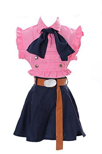 Kawaii-Story MN-24 Elizabeth The Seven Deadly Sins Pink Maid Set Anime Manga Cosplay Kleid Kostüm (Gr. XL)