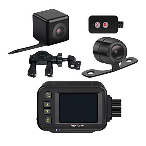 gazechimp Motorcycle Recorder DVR Camera voor Achter Dual Lens Action Camera