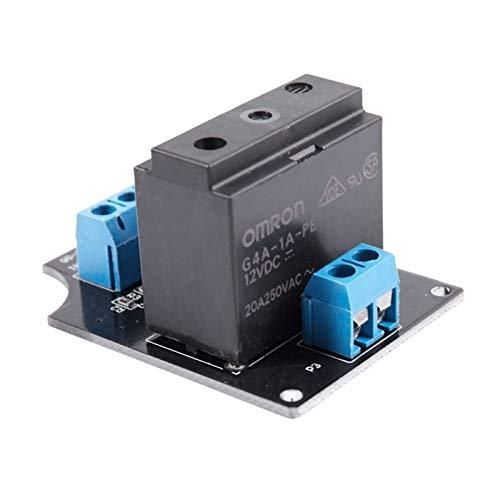 CCJW 12VDC 20A 250VAC 1 Channel G4A-1A-PE OMRON relé de Estado sólido Módulo for Arduino (Size : Other)