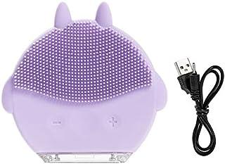 Comfortabele Elektrisch gezicht borstel, elektrisch gezicht Cleansing Brush Skin Care Waterdicht Silicone Facial Cleansing...