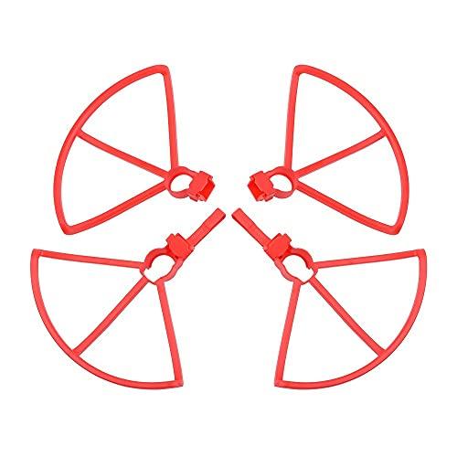 Hélice de dron Propulsoras/Ajuste for Hubsan Zino H117S Props Sopeler Guard Cubierta Protectora Quadcopter Accessories Blade (Color : Red-Guard)