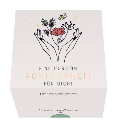 Grafik Werkstatt Message in a Box   Geschenkidee   30 Kärtchen zum abreissen   Eine Portion Achtsamkeit