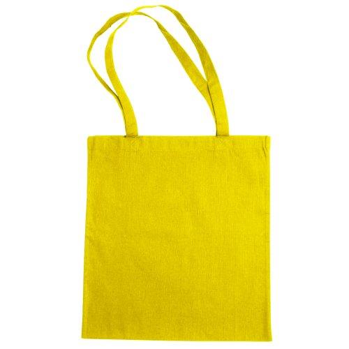 Jassz–Einkaufstasche, Gelb - gelb - Größe: One size