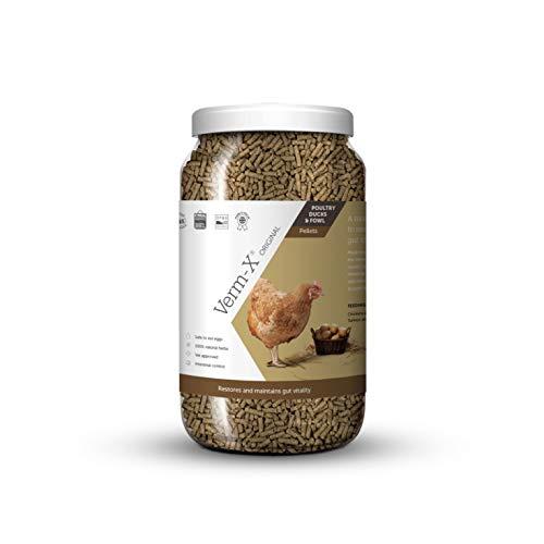 Verm-X Kräuter Pellets Für Geflügel, 1,5 KG
